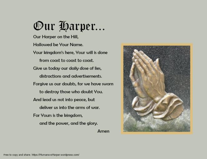 Harper Government to Make PrayerMandatory