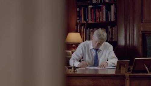 Harper in the office 4