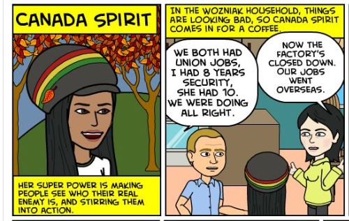 Canada Spirit–A Super Hero for Our Time