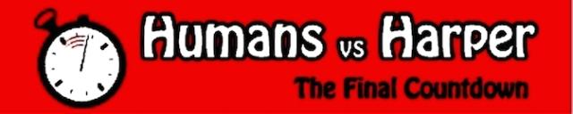 Humans vs. Harper logo